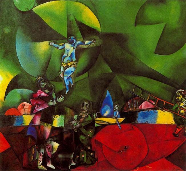 Golgotha, 1912 - Marc Chagall