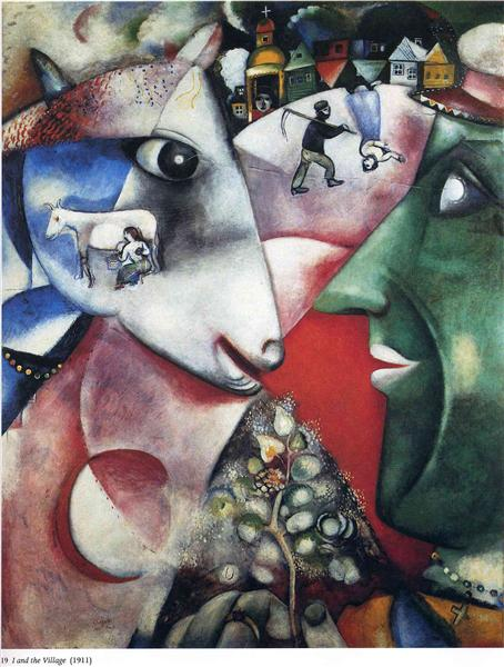 I and the Village, 1911 - Marc Chagall