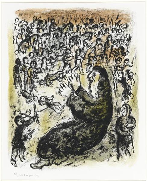 Jeremiah, 1980 - Marc Chagall