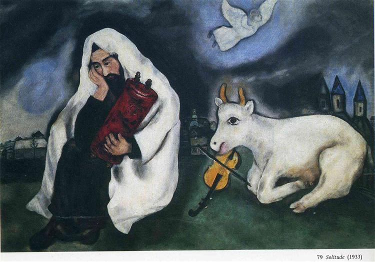 Solitude, 1933 - Marc Chagall