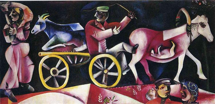 The Cattle Dealer, 1912 - Marc Chagall