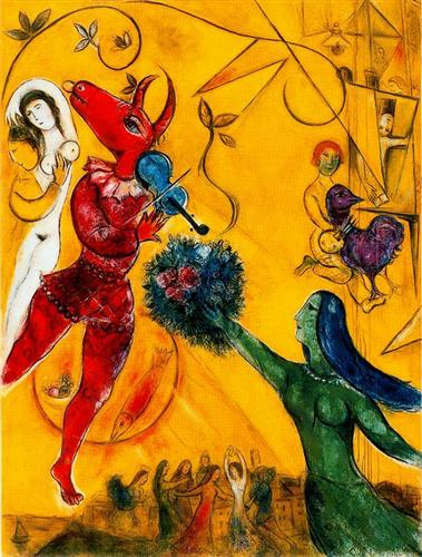 The Dance - Marc Chagall