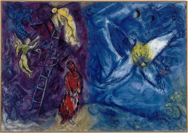 The Jacob's Dream, 1966 - Marc Chagall