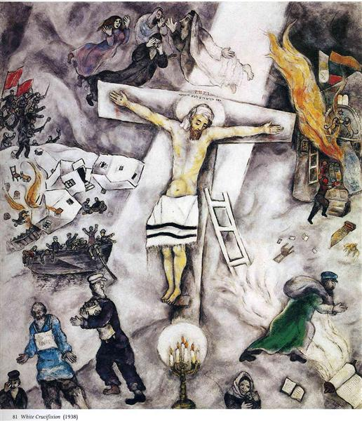 White Crucifixion, 1938 - Marc Chagall
