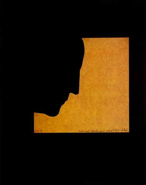 Self Portrait in Profile, 1958 - Marcel Duchamp