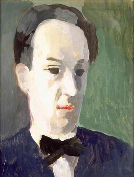 Portrait of André Salmon, 1942 - Marie Laurencin