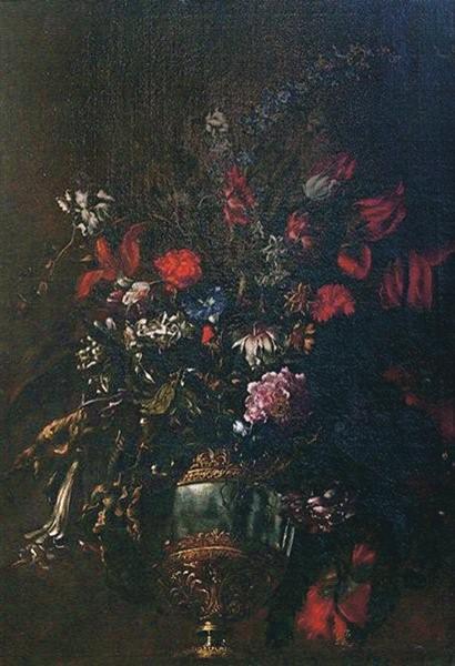 Natura morta di fiori in un vaso - Маріо Де Фьйорі