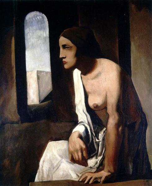 Solitude, 1926 - Mario Sironi