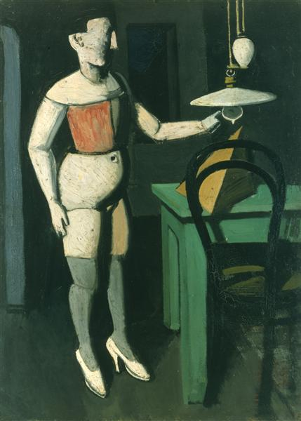 The Lamp, 1919 - Mario Sironi