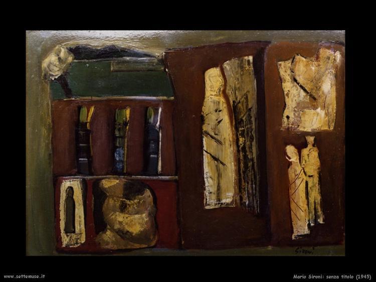 Untitled, 1945 - Mario Sironi