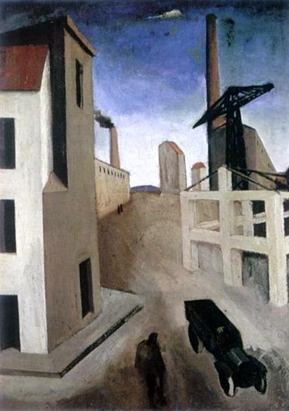 Urban Landscape, 1922 - Mario Sironi