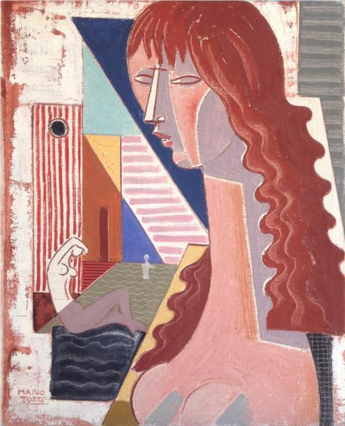 Donne al Bagno, 1974 - Mario Tozzi