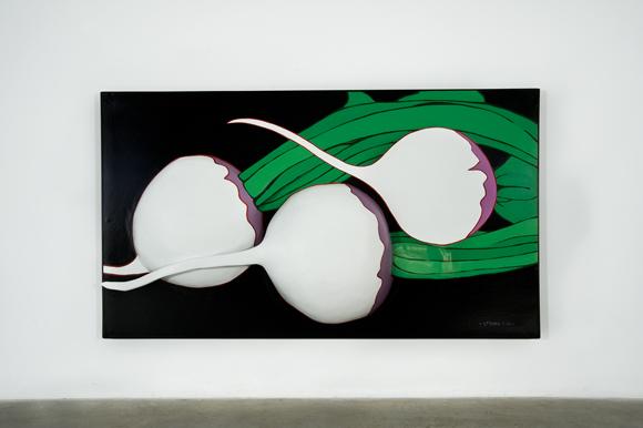White on Green, 1964 - Marjorie Strider