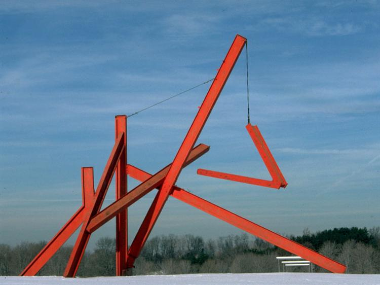 Are Years What? (for Marianne Moore), 1967 - Mark di Suvero