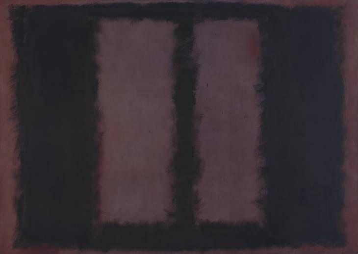 Black on Maroon, 1958 - Mark Rothko