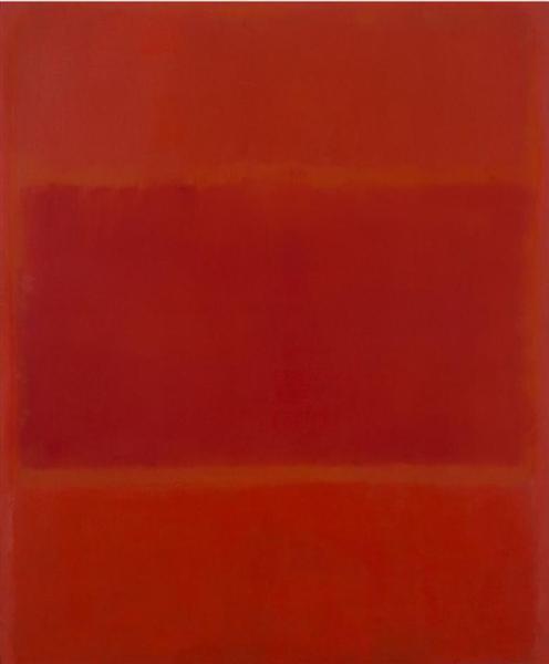 Red and Orange, 1955 - Mark Rothko