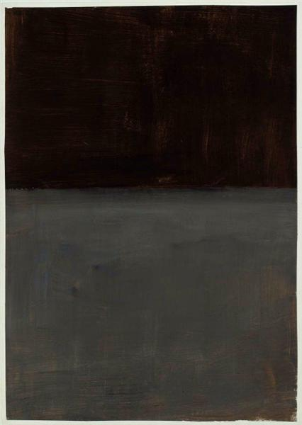 Untitled (brown and gray), 1969 - Mark Rothko