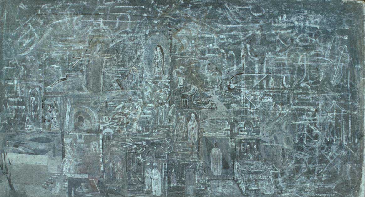 The New Day - Mark Tobey - WikiArt.org - encyclopedia of visual arts