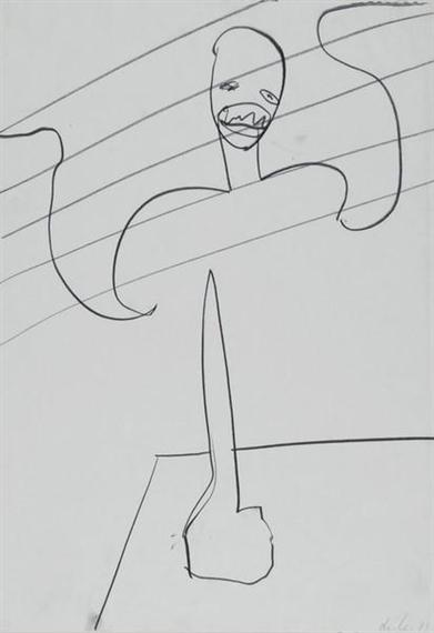 Untitled, 1981 - Martin Disler