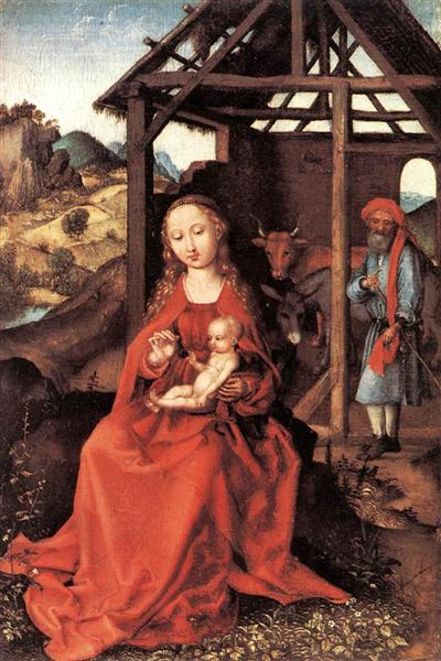 The Holy Family, 1470 - Martin Schongauer