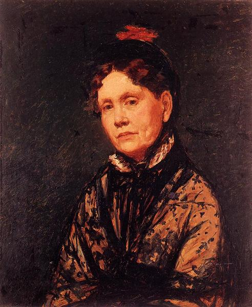 Mrs. Robert Simpson Cassatt, 1873 - Mary Cassatt