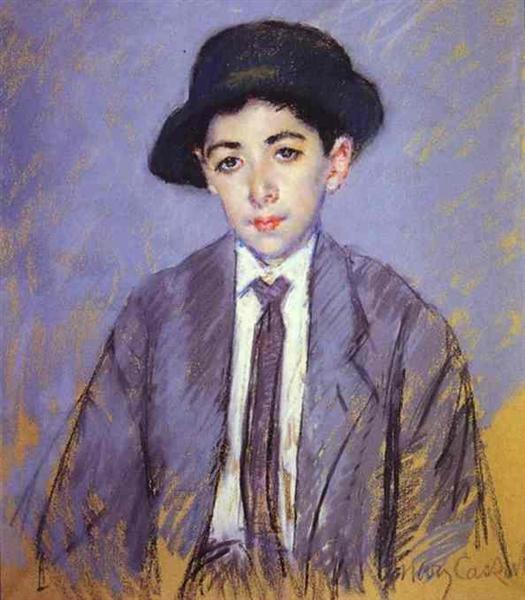 Portrait of Charles Dikran Kelekian, 1910 - Mary Cassatt