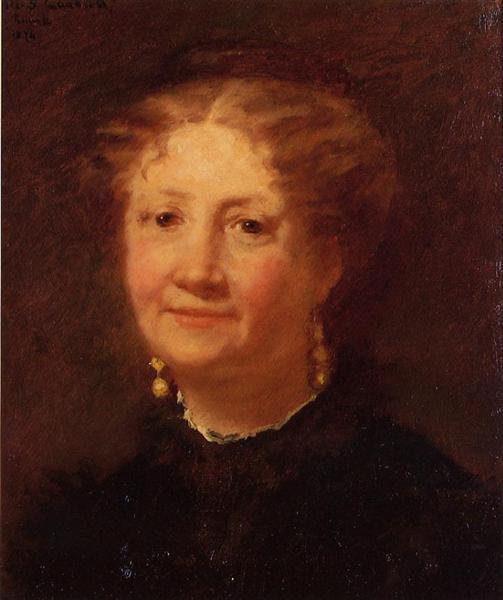 Portrait of Madame Cordier, 1874 - Mary Cassatt