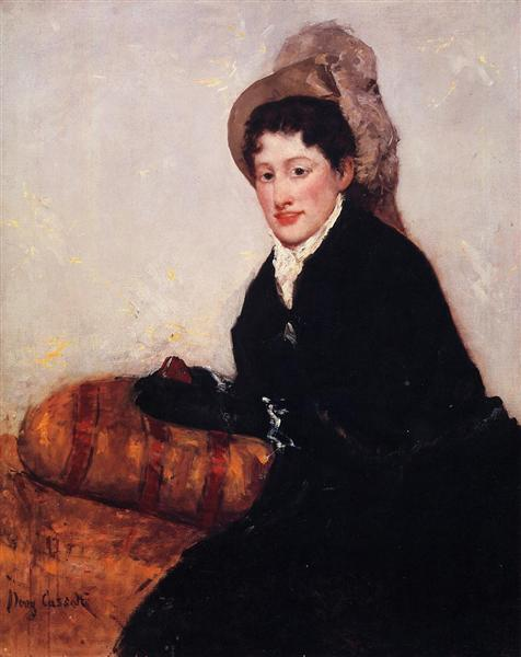 Portrait of Madame X Dressed for the Matinee - Cassatt Mary