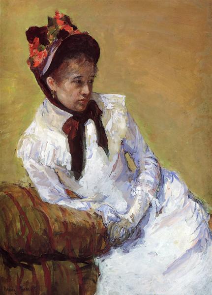 Portrait Of The Artist, c.1878 - Mary Cassatt