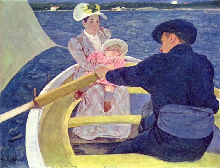 The Boating Party, 1893 - 1894 - Mary Cassatt