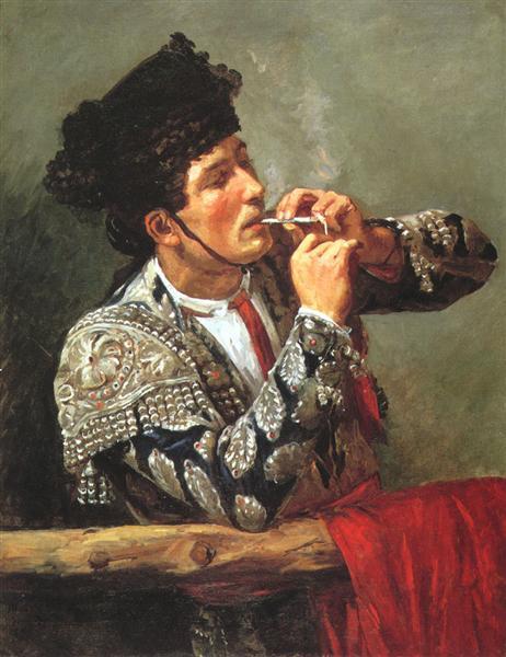 After the Bullfight, 1873 - Mary Cassatt