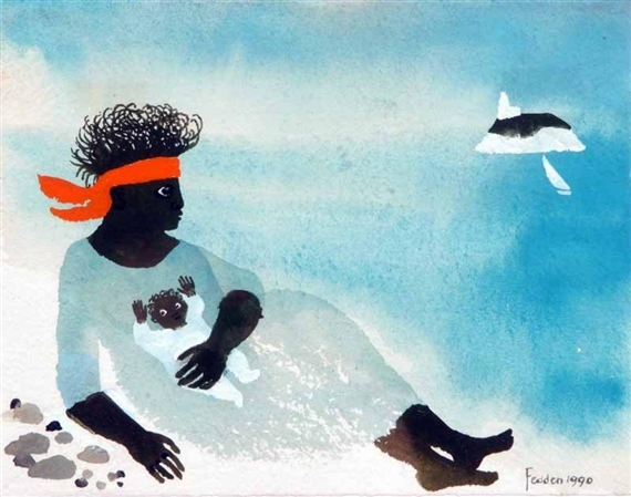 By The Sea, 1990 - Mary Fedden