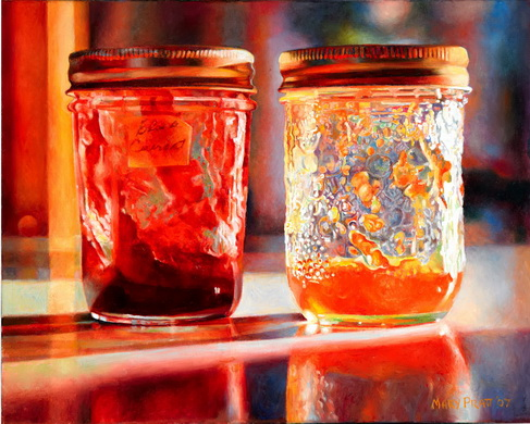 Smears of Jam, Lights of Jelly, 2007 - Mary Pratt