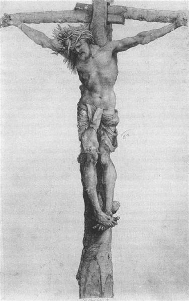 Crucifixion, 1501 - 1502 - Matthias Grünewald
