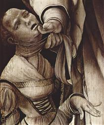 Heller Altarpiece (detail) - Matthias Grünewald