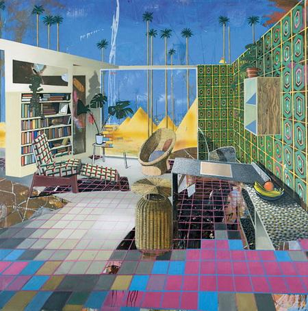Egyptian Room, 2001 - Matthias Weischer