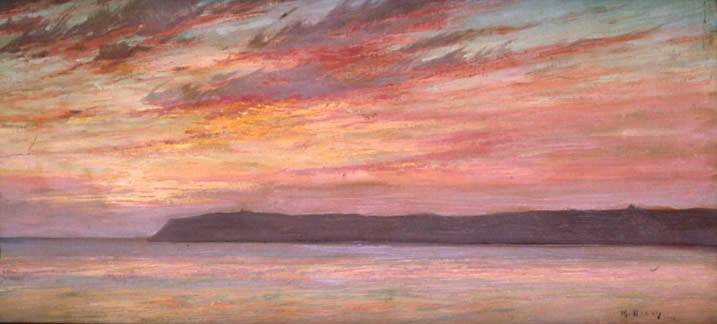 Point Loma Sunset, 1912 - Морис Браун