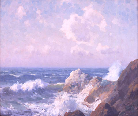 Seascape, 1928 - Maurice Braun