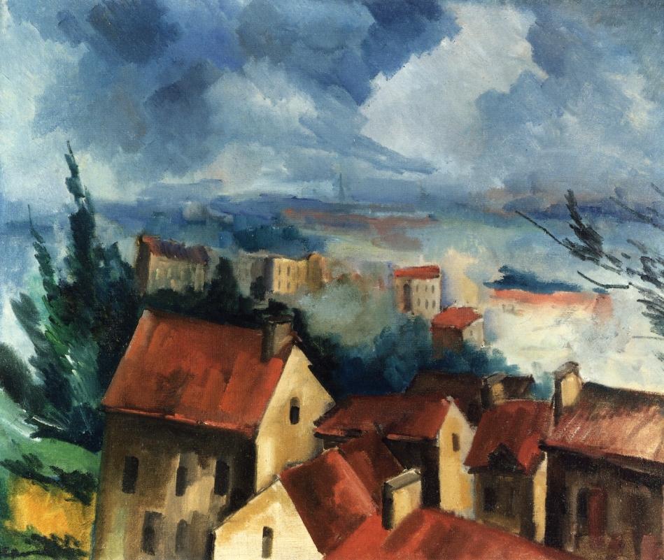 Beauce Landscape 1910 Maurice De Vlaminck Wikiart Org