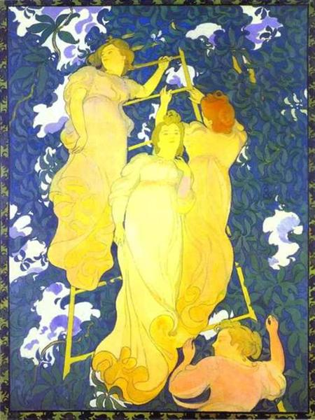The Ladder in the Foliage, 1892 - Maurice Denis