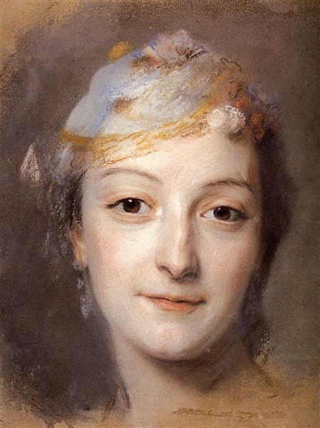 Portrait of Marie Fel, 1757 - Quentin de La Tour