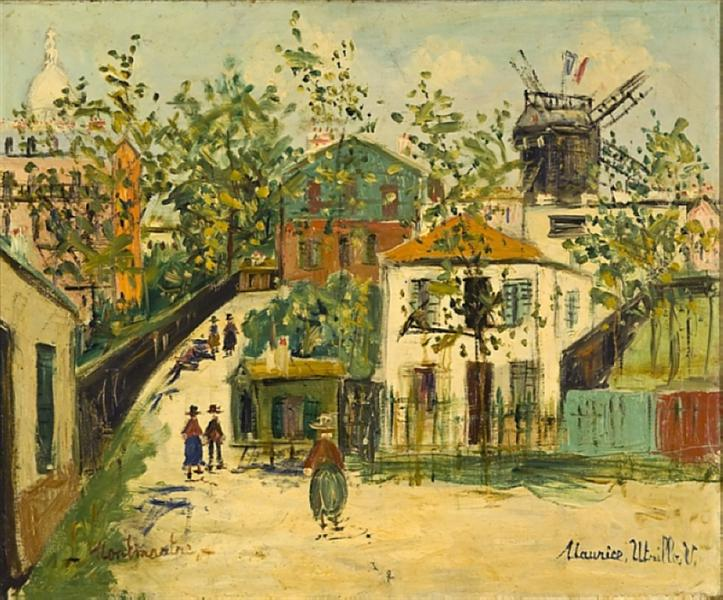 Montmartre - Морис Утрилло