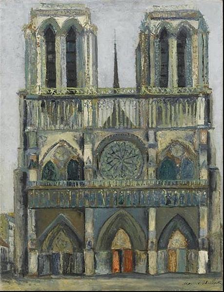 Notre Dame - Maurice Utrillo