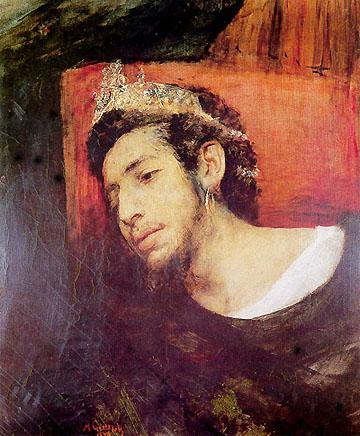 Ahasuerus, Wandering Jew, 1876 - Мауриций Готтлиб
