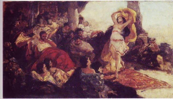 Salome's Dance, 1879 - Maurycy Gottlieb