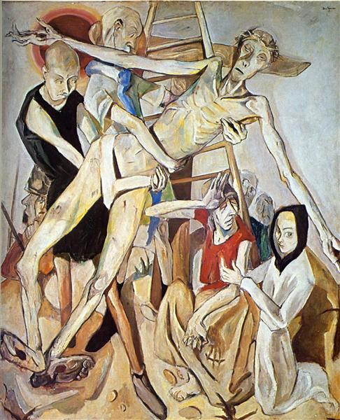 The Descent from the Cross, 1917 - Max Beckmann