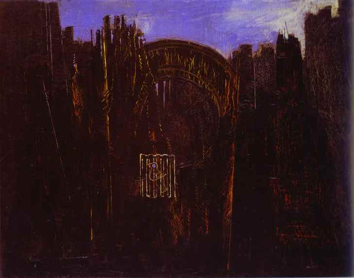 Cage, Forest and Black Sun Cage, 1927 - Max Ernst