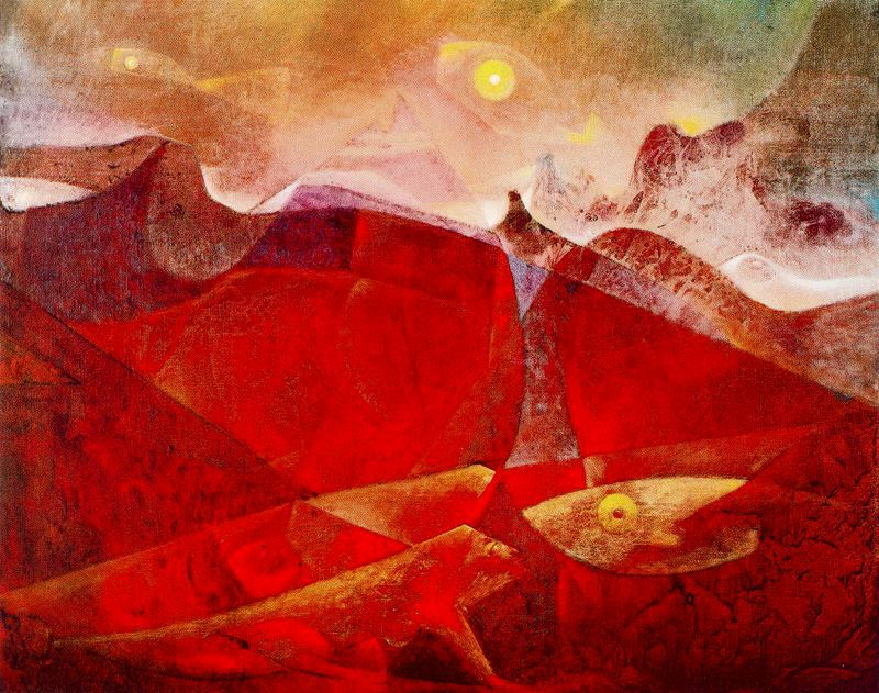 Art Of The Day Max Ernst The Cardinals Are Dying