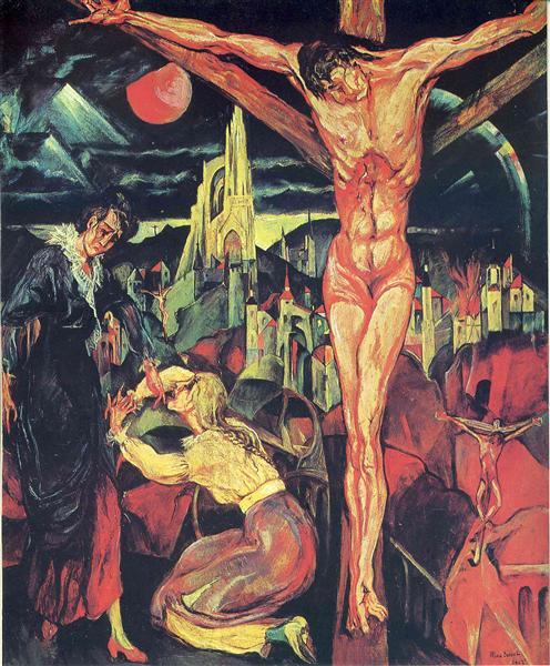 Crucifixion, 1913 - Max Ernst