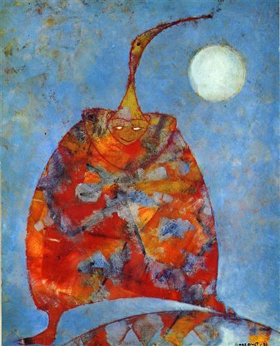 My Friend Pierrot - Max Ernst
